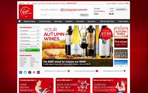 Buy Wine Deals Online - Wine Delivery in the UK | Virgin Wines