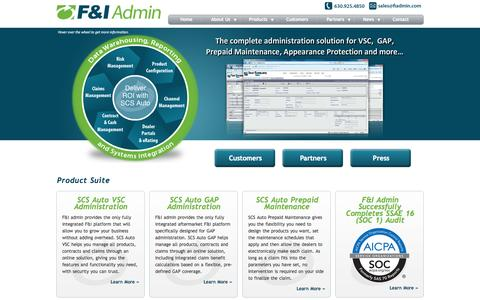 F&I Administration Solutions|The Leading Solutions Provider for F&I Product Administration