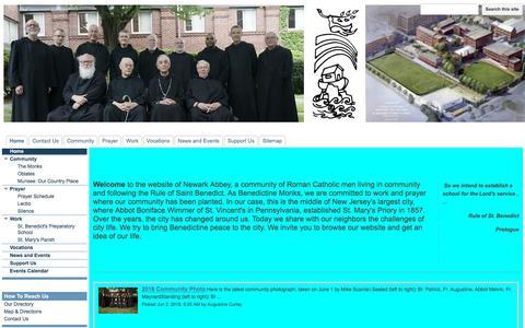 Screenshot of google.com - Newark Abbey - captured June 29, 2018