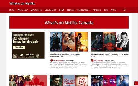 What's on Netflix Canada - Whats On Netflix
