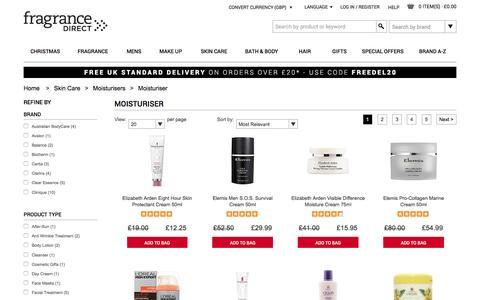 Moisturiser | Fragrance Direct