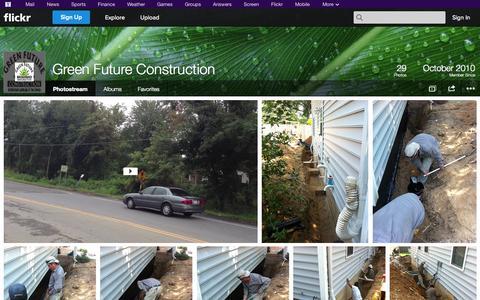 Screenshot of Flickr Page flickr.com - Flickr: Green Future Construction's Photostream - captured Oct. 23, 2014