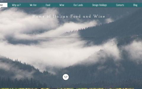 Screenshot of Home Page straitalian.com - www.StraItalian.com - Italian Food and Wine Producers - - captured Feb. 24, 2016