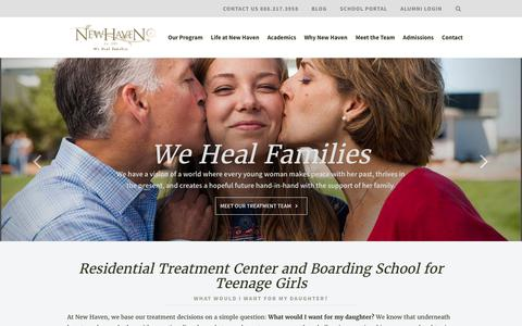 Residential Treatment Center for Troubled Teen Girls | New Haven