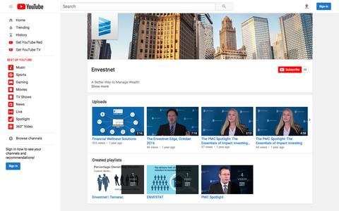 Envestnet  - YouTube