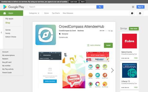 CrowdCompass AttendeeHub - Android Apps on Google Play