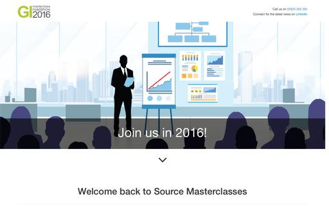 GI Masterclasses - Welcome