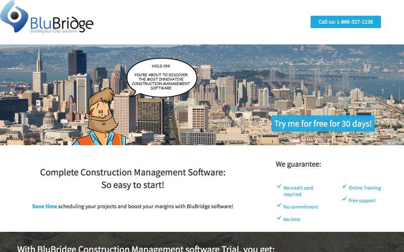 Construction Management Software - BluBridge