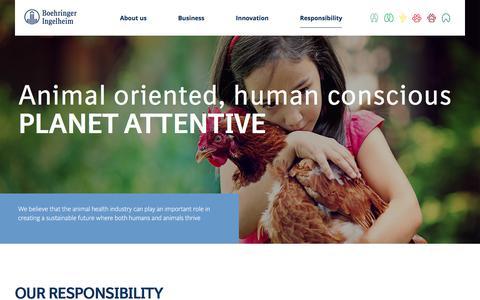 Responsibility | Boehringer Ingelheim