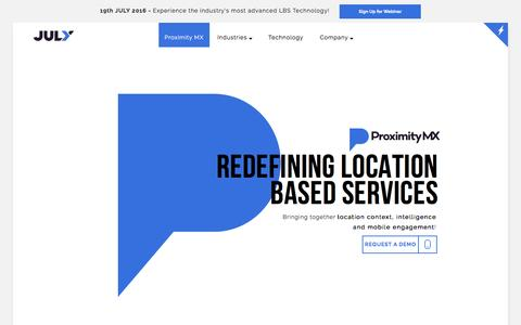 Proximity MX - Redefining Location Based Services & Customer Engagement