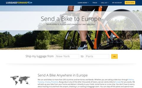 Send a Bike to Europe | Shipping a Bike To Europe