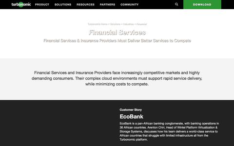 Data Center Solutions for Financial Institutions & Insurance Providers
