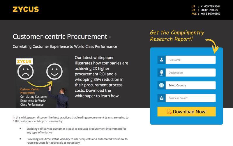 Customer- Centric Procurement