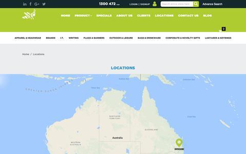 Screenshot of Locations Page ghpa.com.au - Locations - captured Sept. 29, 2018