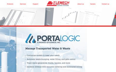 Screenshot of Products Page elemechinc.com - EleMech - Products - captured July 17, 2018