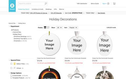 Holiday Decorations & Christmas Décor | Zazzle