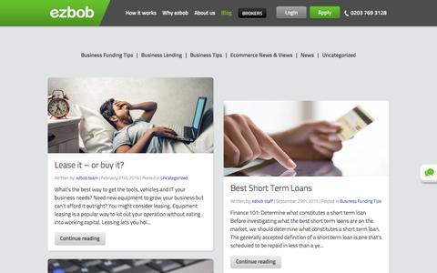 ezbob Blog | Tips to Grow Your Business