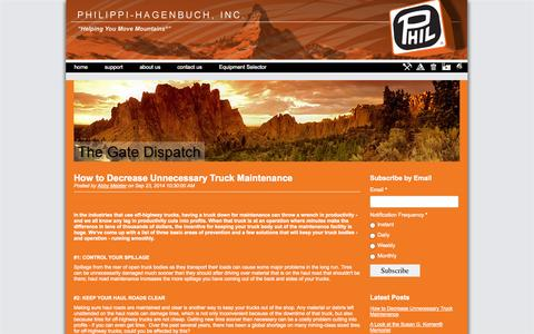 Screenshot of Blog philsystems.com - The Gate Dispatch - captured Oct. 2, 2014