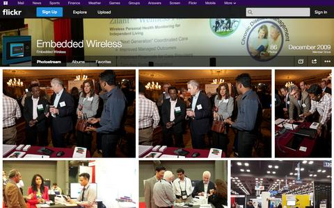 Screenshot of Flickr Page flickr.com - Flickr: Embedded Wireless' Photostream - captured Nov. 1, 2014