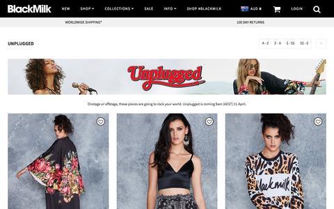 Unplugged – Black Milk Clothing