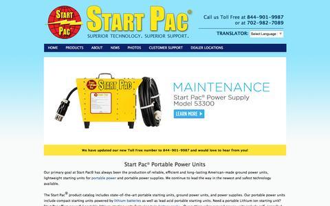 Screenshot of Home Page startpac.com captured Aug. 16, 2016