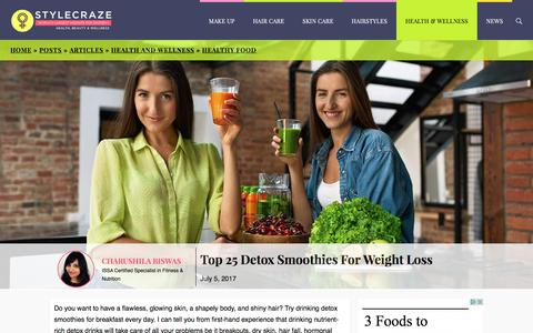 Top 25 Detox Smoothie Recipes