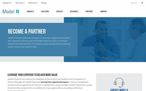 Become a Partner - Model N