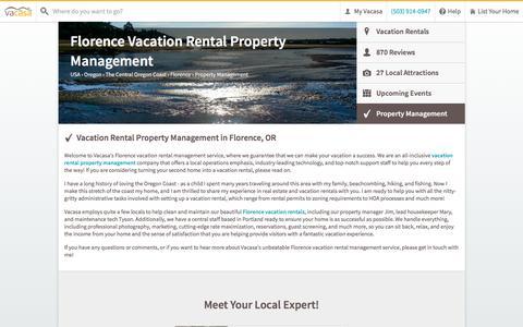Screenshot of Team Page vacasa.com - Florence Vacation Rental Property Management | Vacasa - captured June 19, 2016