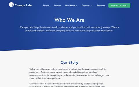 Who We Are - Canopy Labs