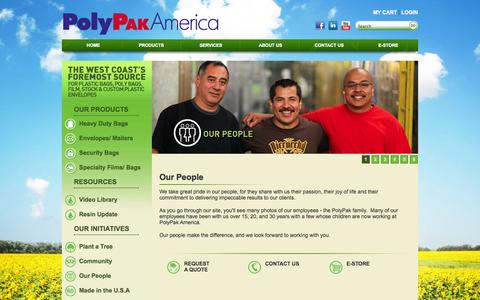 Screenshot of Team Page polypak.com - PolyPak Plastic Packaging | Our People - captured Oct. 3, 2014