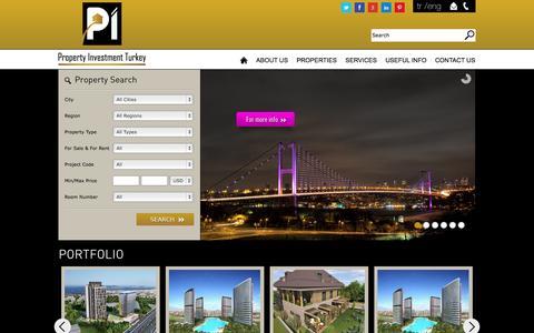 Screenshot of Home Page piturkey.com - PiTurkey - captured Sept. 29, 2014