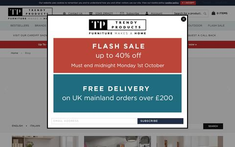 Screenshot of Blog trendy-products.co.uk - Trendy Products | Trendy Products | Trendy Products - captured Oct. 1, 2018
