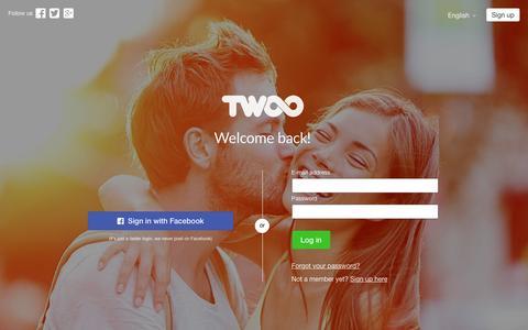 Screenshot of Blog twoo.com - Twoo - Meet New People - captured May 20, 2016
