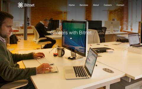 Screenshot of Jobs Page bitnet.io - Bitnet - captured Dec. 17, 2014