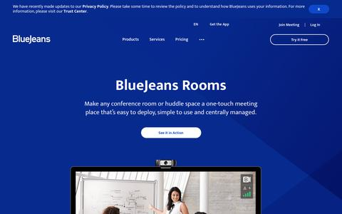 Make Any Space a Video Conference Room | BlueJeans Rooms