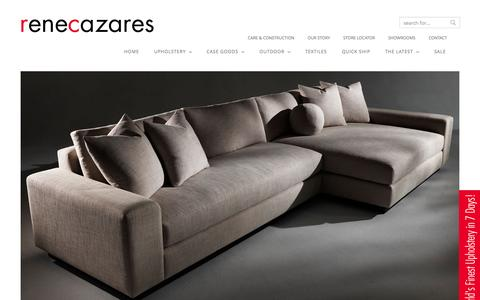Screenshot of Home Page rcfurniture.com - RC Furniture | - captured Oct. 9, 2014