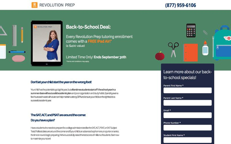 Revolution Prep Summer Deal