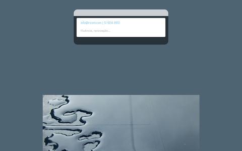 Screenshot of Home Page ricoro.com - Ricoro Design - captured Oct. 7, 2014