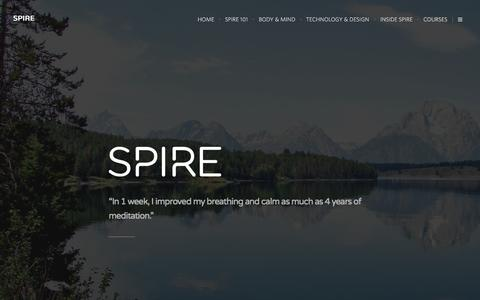 Screenshot of Blog spire.io - Spire Blog - captured Nov. 18, 2015
