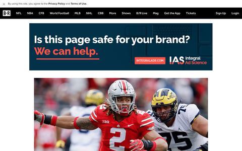 Screenshot of Home Page bleacherreport.com - Bleacher Report | Sports. Highlights. News. Now. - captured July 11, 2019