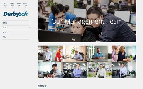 Our Management Team | DerbySoft.com