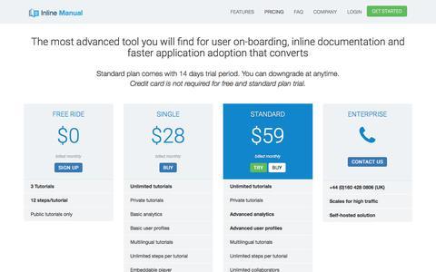 Pricing | InlineManual.com
