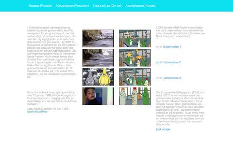 Screenshot of Press Page nuukimeq.dk - Media – Home - captured Dec. 1, 2016
