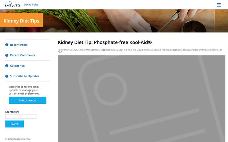 Kidney Diet Tip: Phosphate-free Kool-Aid® - Kidney Diet Tips