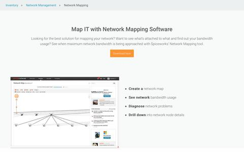 Network Mapping Software – Free Network Map Tool from Spiceworks