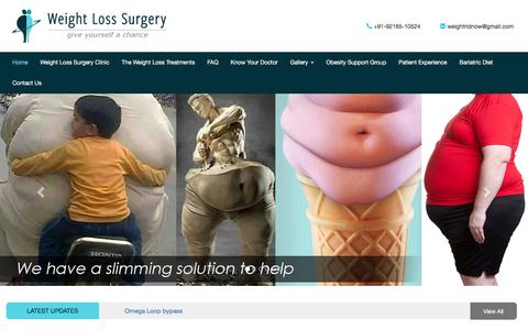 Weight loss surgery India | liposuction In Punjab | Obesity surgery