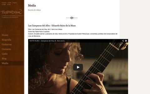 Screenshot of Press Page eliasbonet.com - Elias Bonet. - captured Oct. 2, 2014