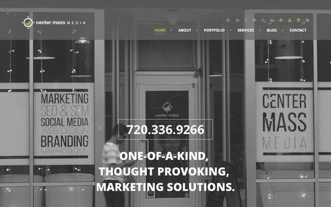 CENTER MASS MEDIA Center Mass Media | A Denver Metro Marketing Team