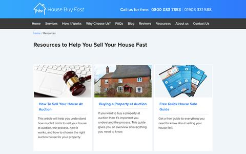 Resources to Help You Sell Your House Fast