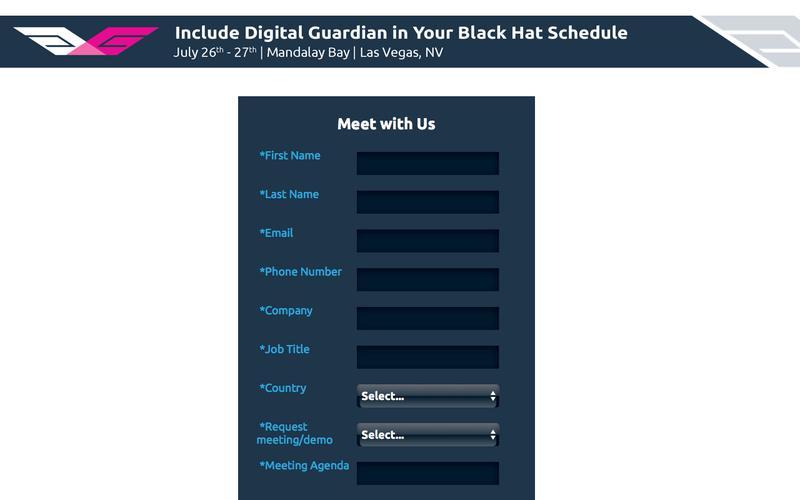 See Digital Guardian at Black Hat 2017